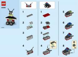 Конструктор LEGO 30499 Роботы и автомобили