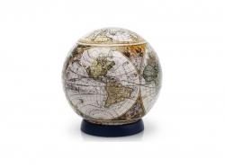 """Шаровой пазл """"Старинная карта мира"""""""