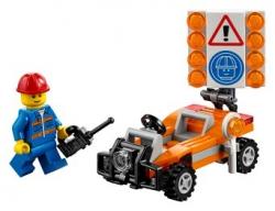 Конструктор Lego City30357  Дорожный рабочий