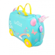 Детский чемодан на колесиках Trunki Единорог Уна