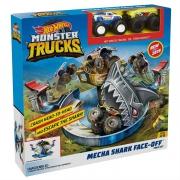 Игровой набор HotWheels Monster Trucks Опасное противостояние