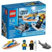 """Конструктор """"спасение серфингиста"""" Lego City"""