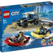 Конструктор LEGO City 60272 Полицейская лодка