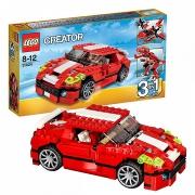 """Конструктор """"Красный мощный автомобиль"""" Lego Creator 31024"""