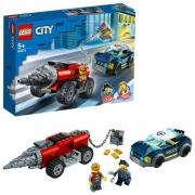 Конструктор City Полицейская погоня за бурильщиком LEGO 60273