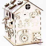 Развивающий биззи-домик
