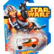 "Машинка Hot Wheels Хот Вилс ""Звездные Войны"" - Люк Скайуокер"
