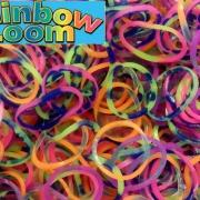 "Резиночки Rainbow Loom ""Радужный микс""  (600шт)"