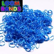 Двухцветные (сине-белый) резиночки (600шт)