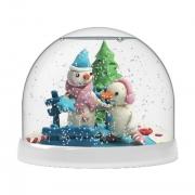Набор Создай Волшебный шар со снегом Снеговики