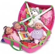 Детский чемодан на колесах Trunki Trixie (Транки Трикси) Розовый